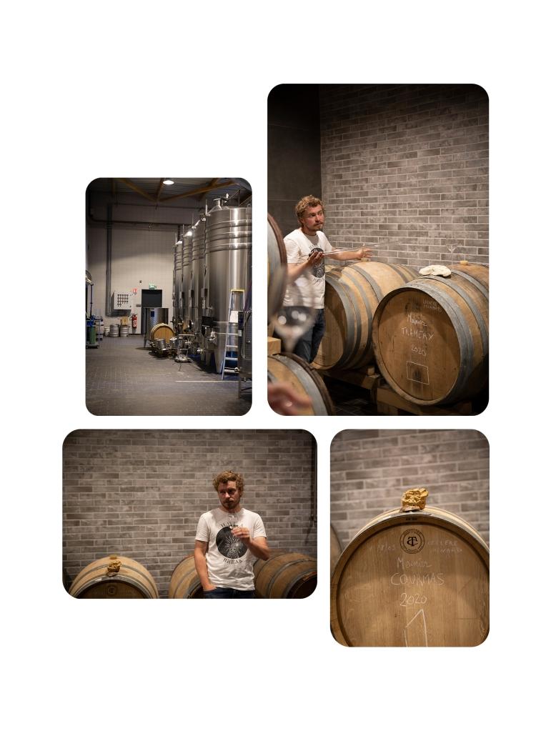 Champagne Clément Leclere Vinification - 2