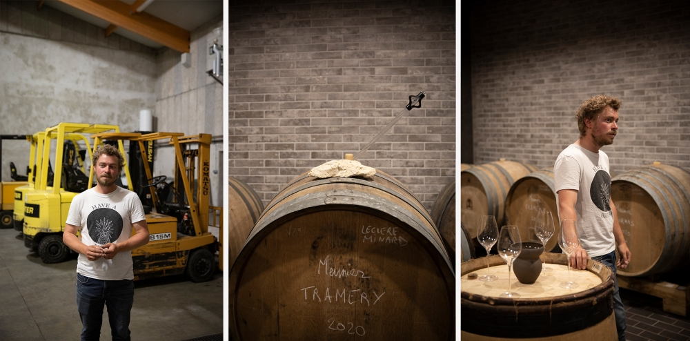 Champagne Clément Leclere Vinification step by step